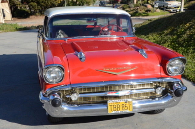 1957 chevy bel air nomad 2 door station wagon restored for 1957 chevy 2 door wagon for sale
