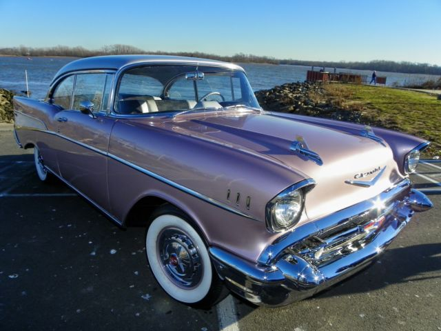 1957 Chevrolet Bel Air/150/210 Sport Coupe Beautiful Restoration