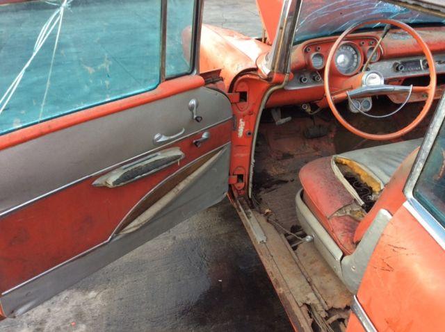 1957 Chevy belair convertible 2 door original rat rod ...