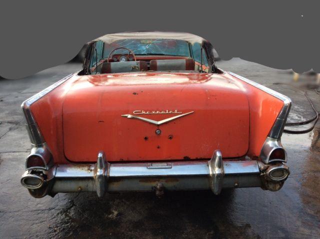 1957 chevy belair convertible 2 door original rat rod custom hot rod 55 56 57 for sale photos. Black Bedroom Furniture Sets. Home Design Ideas