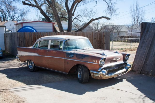 1957 chevy four door bel air sedan 283 power pack v8 2 for 1957 chevy belair 4 door sedan for sale