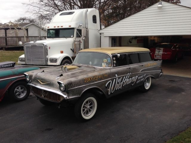 1957 Chevy Gasser Wagon For Sale Photos Technical