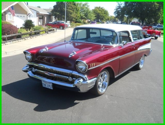 1957 Chevrolet Bel Air/150/210 Nomad Wagon