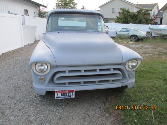 1957 Chevrolet Other Pickups Short bed step side