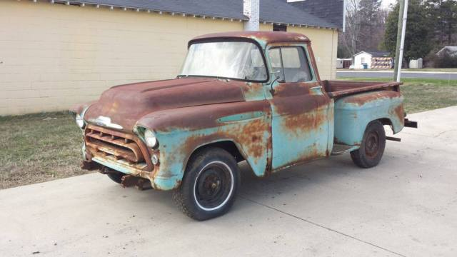 1957 chevy pickup truck awesom patina custom hot rod rat 55 56 57 for sale photos technical. Black Bedroom Furniture Sets. Home Design Ideas