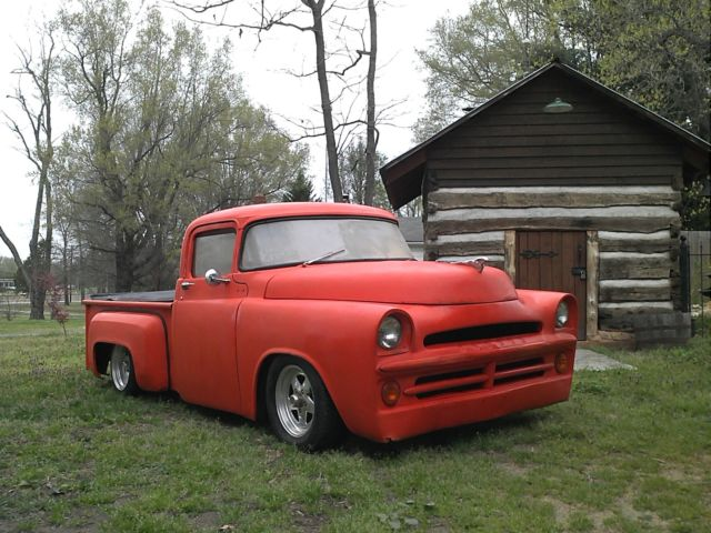1957 dodge pickup truck custom old school chopped dropped runs drives for sale photos. Black Bedroom Furniture Sets. Home Design Ideas