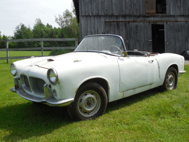 1957 Fiat 1100 TV, Trasformabile Convertible