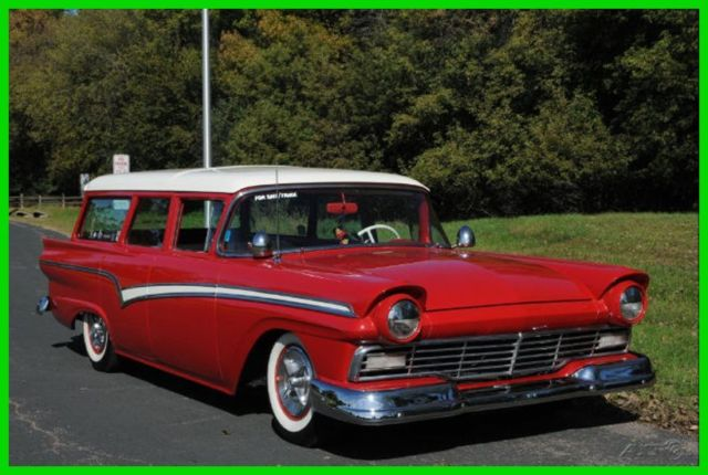 1957 Ford Fairlane 1957 Ford Country Wagon Resto Mod THUNDERBIRD V8