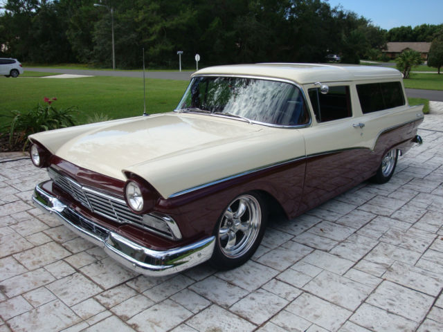 1957 Ford Del Rio Ranch Wagon Very Rare 2 Door Wagon Ford
