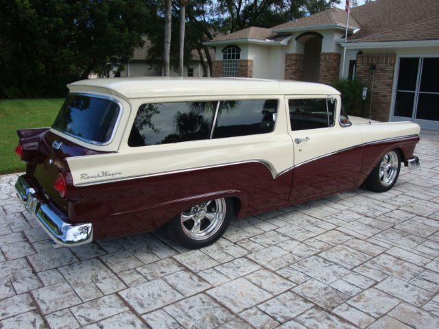 1957 Ford Del Rio Ranch Wagon Very rare 2 door wagon Ford's answer