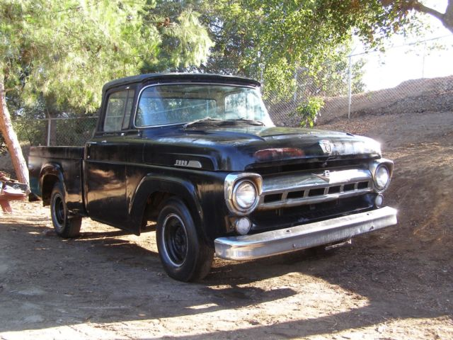 1957 Ford F-100 Chrome Bumpers, Grill, Wrap Around Windows