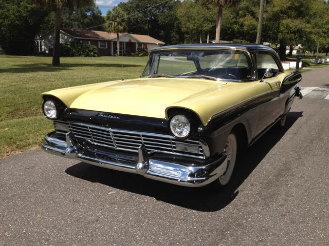 1957 Ford Fairlane 500 2 Door Hardtop 292 V8 4 Speed Sunny