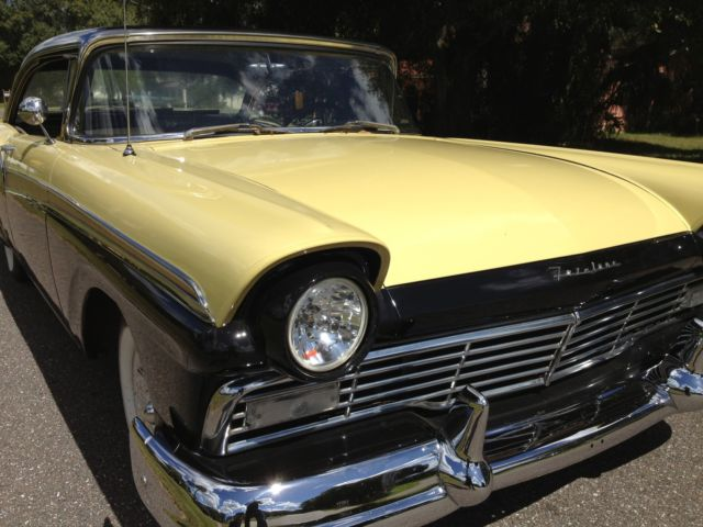 1957 ford fairlane 500 2 door hardtop 292 v8 4 speed sunny for 1956 ford fairlane 4 door hardtop