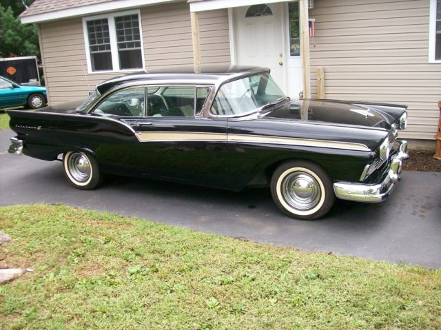 1957 ford fairlane 500 4 speed 312 dual quad for sale