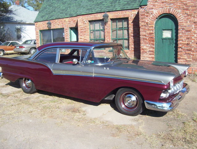 South Hutchinson (KS) United States  city images : 1957 FORD FAIRLANE 500 SHOWCAR AND DAILY DRIVER!!! for sale: photos ...