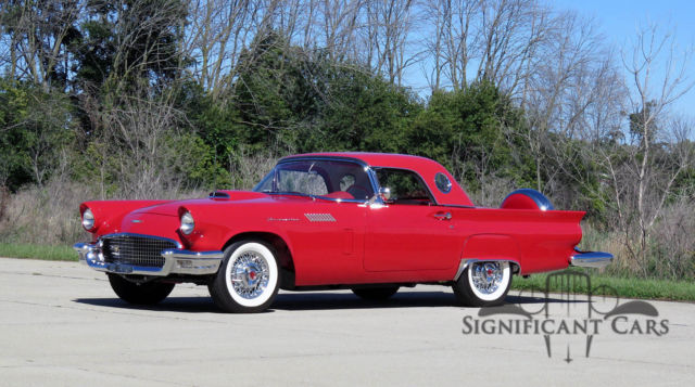 1957 Ford Thunderbird Supercharged