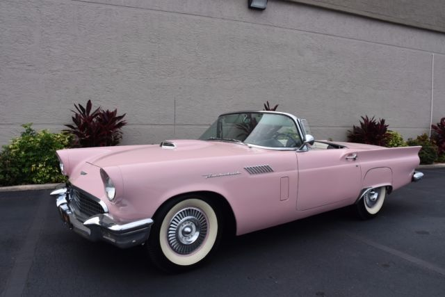 1957 Ford Thunderbird Automatic Power Steering Power Brakes