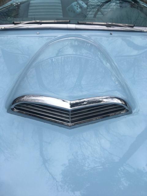 Ford Thunderbird D Code Starmist Blue Convertible With Dual Carbs