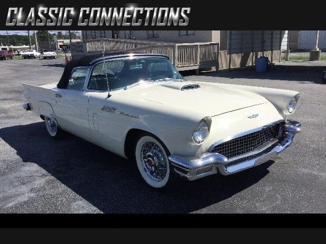 1957 Ford Thunderbird Premium with two top