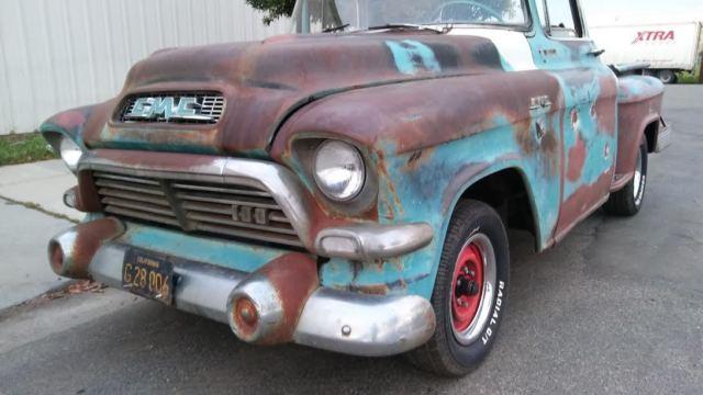 Cars For Sale In Fresno Ca >> 1957 GMC 100 Pickup Big Back Window V8 manual Pickup Truck ...