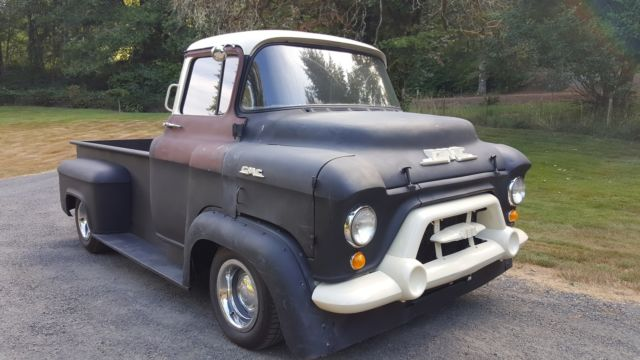 1957 gmc coe chevrolet truck hot rat rod chevy 1956 1955 pick up v8 automatic for sale photos. Black Bedroom Furniture Sets. Home Design Ideas