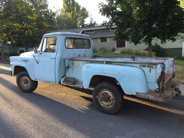 1957 International Harvester A120