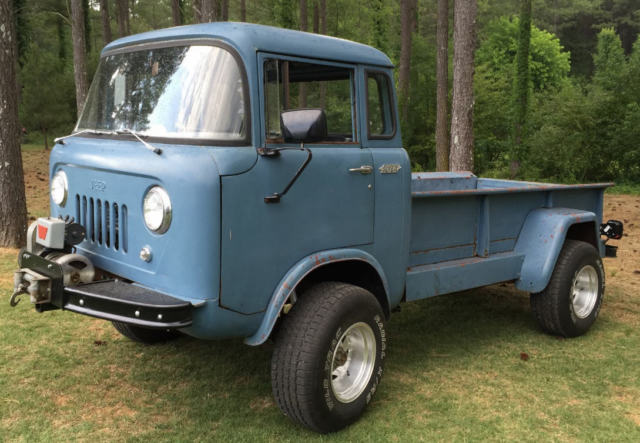 Jeep Fc For Sale >> 1957 Jeep Forward Control Fc 170 4wd Pickup Cab Over Engine Coe