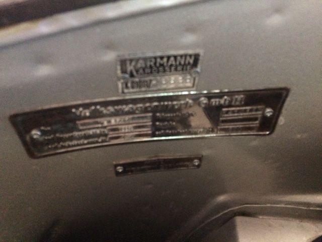 1957 Lowlight Karmann Ghia For Sale Photos Technical