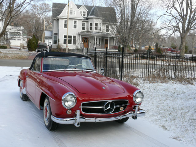 1957 Mercedes-Benz 190-Series 190SL roadster
