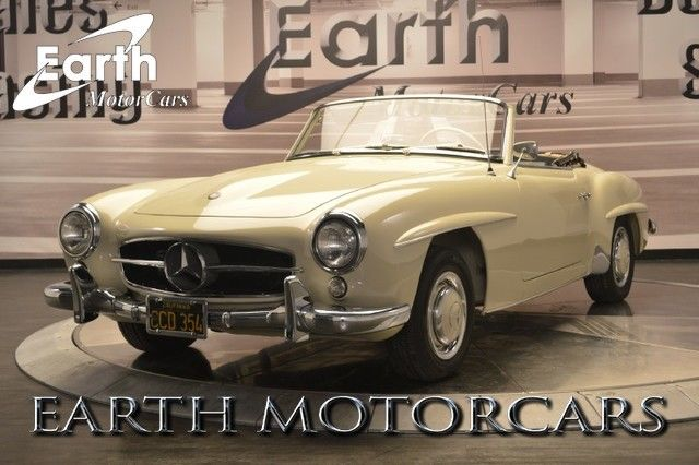 1957 Mercedes-Benz 190-Series Frame Off Restored