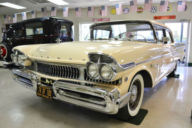 1957 mercury monterey m 335 368 cu in 335 hp 74 of 100 nascar heritage 1 1957 mercury monterey convertible for restoration for sale photos 1954 Mercury Monterey at gsmx.co