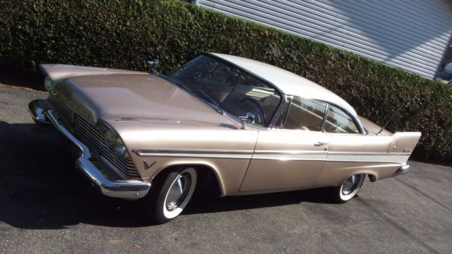 1957 Plymouth Fury Belvedere Sport Coupe