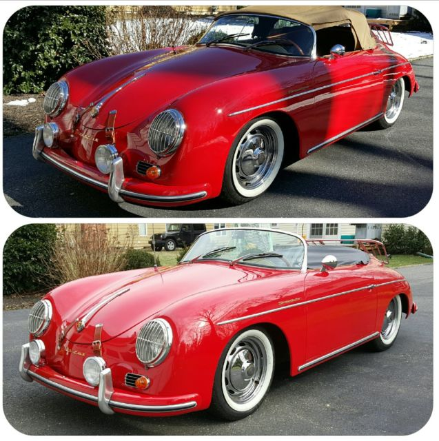 1957 Porsche 356 Speedster Replica Intermeccanica For Sale