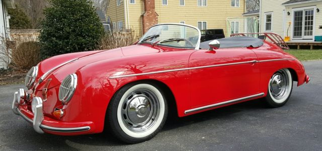 1957 porsche 356 speedster replica intermeccanica for sale photos technical specifications. Black Bedroom Furniture Sets. Home Design Ideas