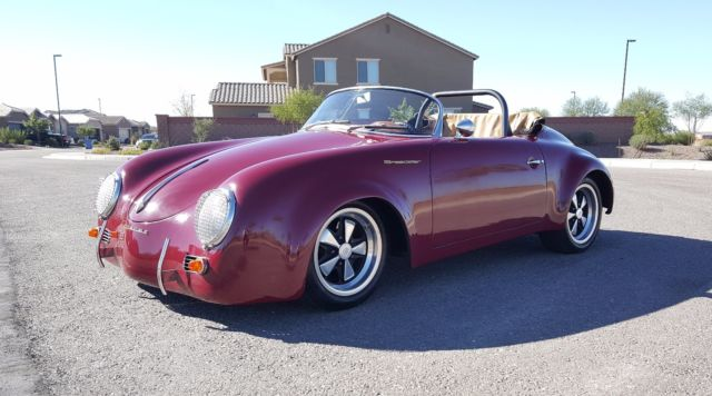 1957 porsche 356 speedster widebody replica for sale photos technical specifications description. Black Bedroom Furniture Sets. Home Design Ideas