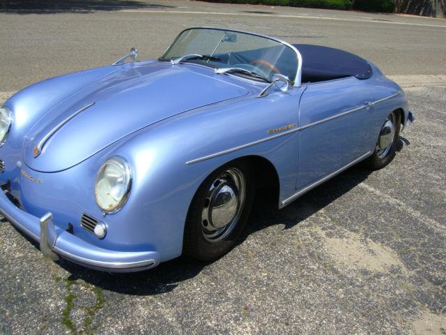 1957 Porsche Speedster Convertible Replica JPS Motorsports Turbo VW