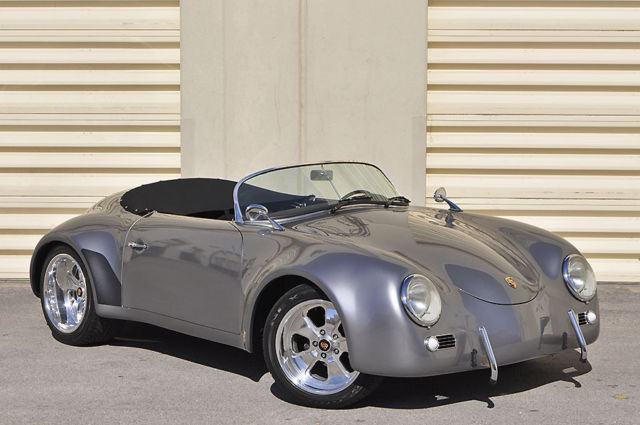 1957 Porsche 356 Widebody Speedster Replica
