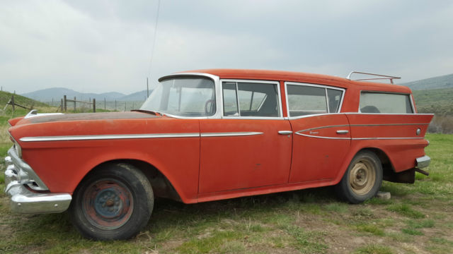 1957 rambler cross country wagon for sale photos. Black Bedroom Furniture Sets. Home Design Ideas