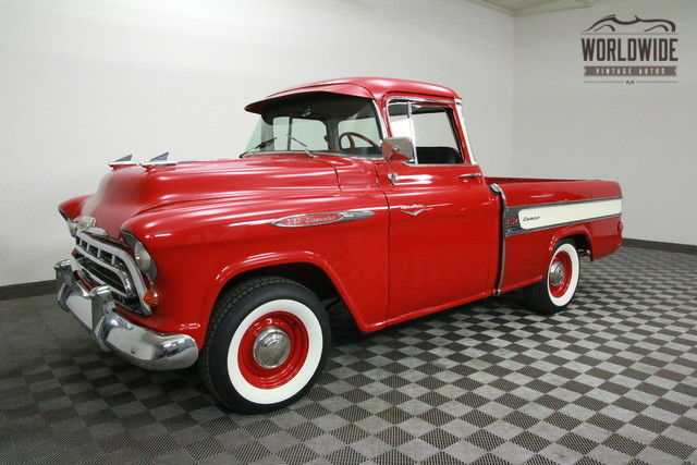 1957 Chevrolet CAMEO RESTORED. V8! 1 OF 2,244. AUTO!