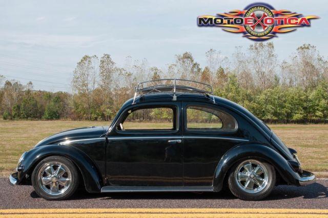 1957 Volkswagen Beetle Oval Window Restored Fuchs