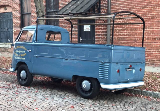1957 Volkswagen Single Cab For Sale Photos Technical