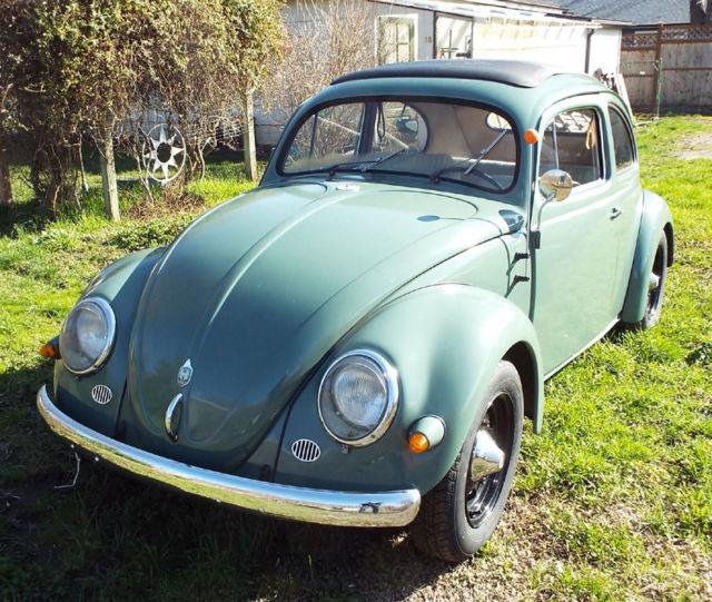 Vw 1600 Beetle For Sale: 1957 Volkswagen VW Oval Window Ragtop For Sale: Photos