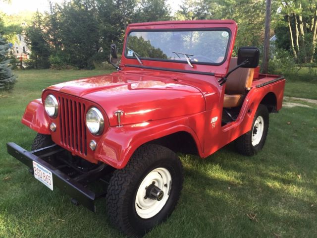 1957 Willys Willy Jeep 2 door