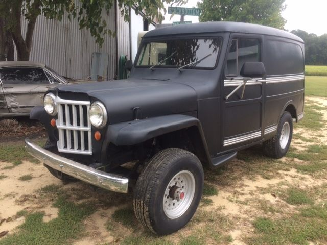 1957 willys overland jeep panel wagon project restomod for sale