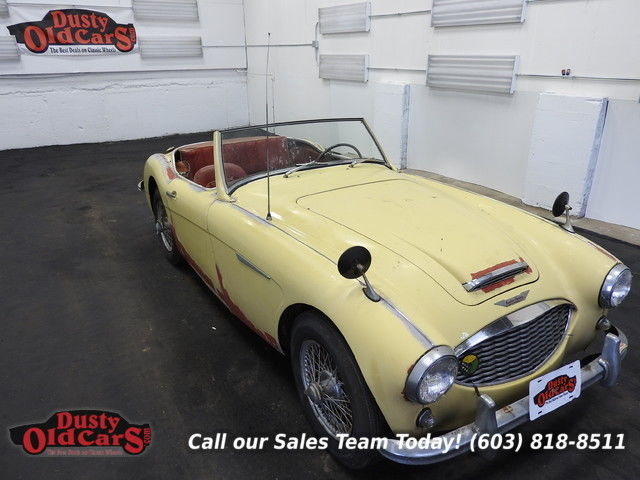 1957 Austin Healey 100-6 Runs Drives Body Int Rough 100-6