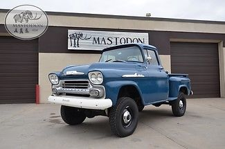 1958 Chevrolet Other Pickups NAPCO 4x4 chevy pick-up