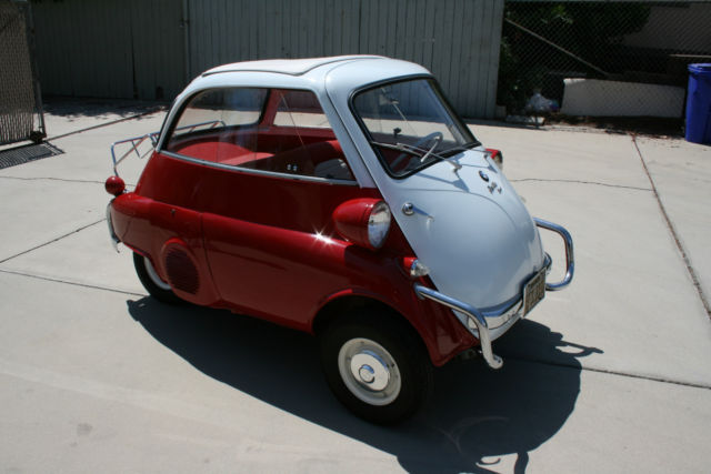 1958 Bmw Isetta 300 1959 1960 1961 1957 600 Microcar For
