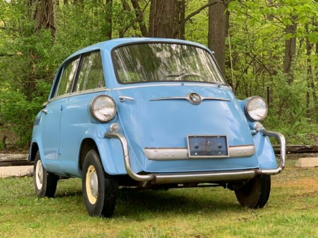 1958 bmw isetta 600 for sale photos technical. Black Bedroom Furniture Sets. Home Design Ideas