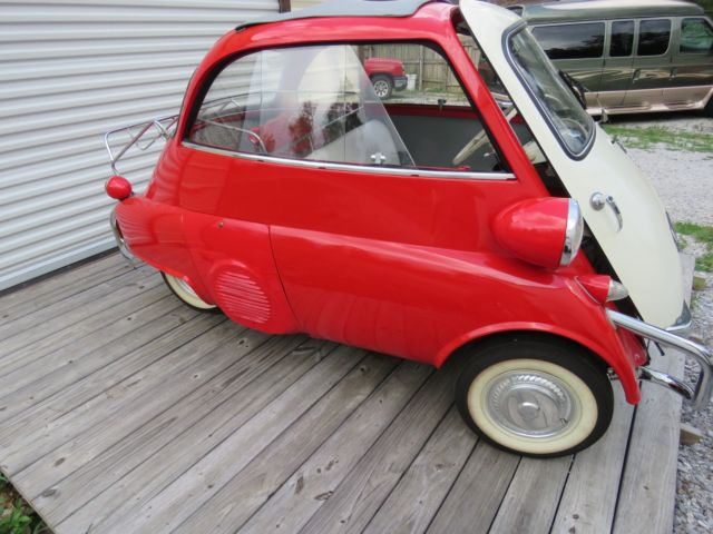 1958 Bmw Isetta Bubble Car For Sale Photos Technical Specifications Description
