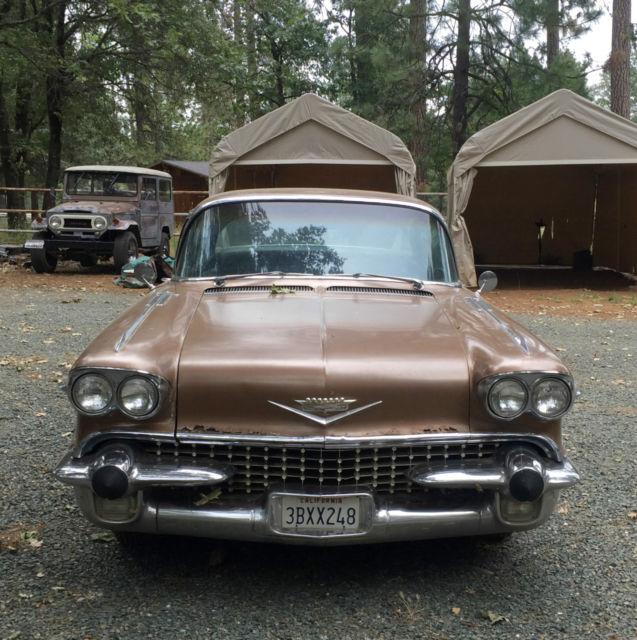 1958 Cadillac 60 Special Fleetwood 4 Door Original Vintage